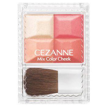 健康的で明るい表情へ!CEZANNE(セザンヌ)『ミックスカラーチーク 03 オレンジ系』をご紹介に関する画像1