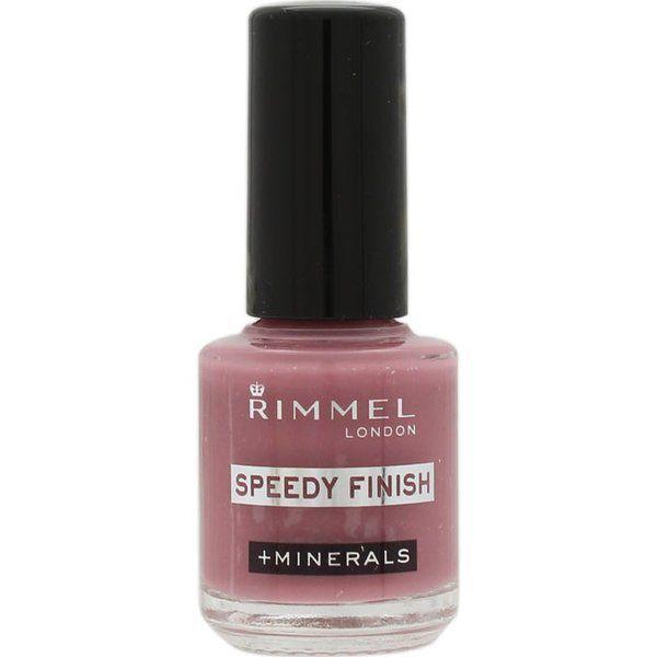 RIMMEL(リンメル)『スピーディ フィニッシュ N 814 グレイッシュローズ』の使用感をレポに関する画像1