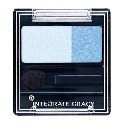 INTEGRATE GRACY(インテグレート グレイシィ)『アイカラー ブルー182』の使用感をレポに関する画像1