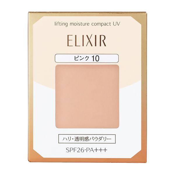 ひと塗りで明るい肌に。 ELIXIR SUPERIEUR(エリクシール シュペリエル)『リフティングモイスチャーパクト UV ピンク10』をご紹介に関する画像1