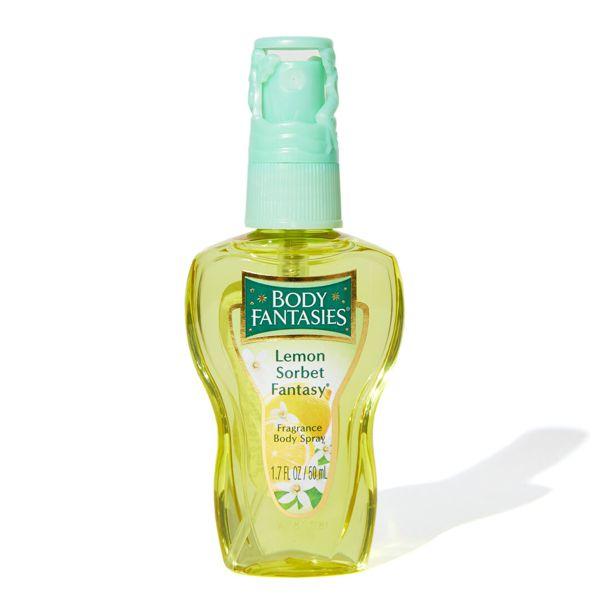 柑橘の爽やかな匂いがほんのり香るBODY FANTASIES(ボディファンタジー)『ボディスプレー レモンソルベ』をご紹介に関する画像1