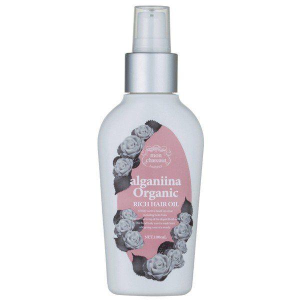 ダメージヘアをしっとり保湿するmon chareaut(モンシャルーテ)『アルガニーナ オーガニック リッチヘアオイル メロウローズ』をご紹介に関する画像1