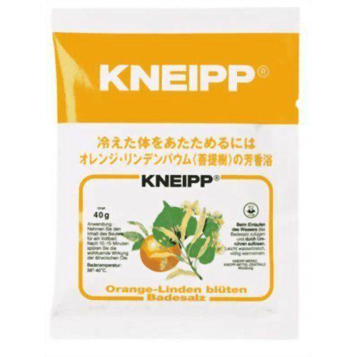 オレンジの香りが楽しめる、Kneipp(クナイプ)『クナイプ バスソルト オレンジ・リンデンバウム<菩提樹>の香り』の使用感をレポに関する画像1