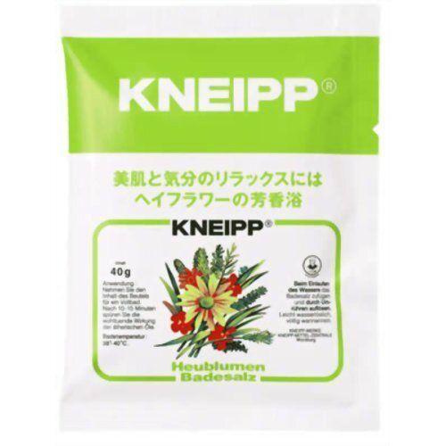 Kneipp(クナイプ)『クナイプ バスソルト ヘイフラワーの香り』の使用感をレポに関する画像1
