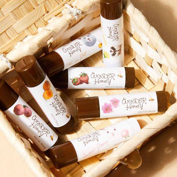 VECUA Honey(べキュアハニー)『ワンダーハニー 色づくジューシー蜜リップ  野苺』をレポ!に関する画像4