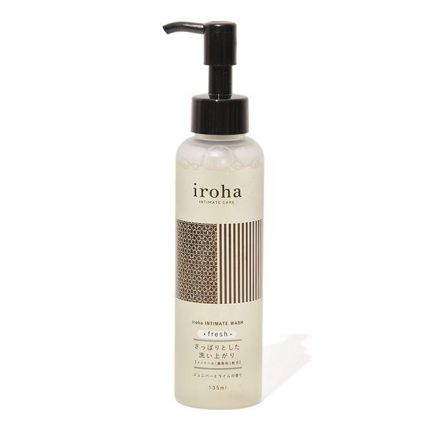 デリケートゾーンを優しく洗い上げる弱酸性ソープ『iroha インティメートウォッシュ フレッシュ』をご紹介に関する画像1