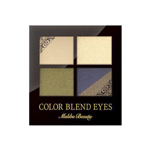 Malibu Beauty(マリブビューティー)『カラーブレンドアイズ MBCE-03 クラシカルネイビーブラウン』の使用感をレポに関する画像1