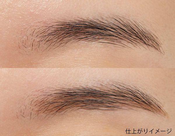 KATE(ケイト)『アイブロウペンシルA BR-1 明るい茶色』の使用感をレポに関する画像11