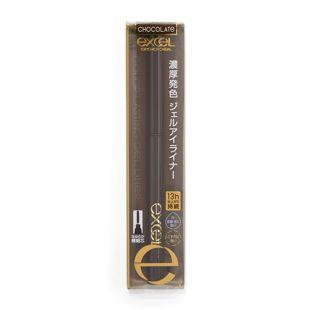 エクセル カラーラスティングジェルライナー CG02 チョコレート の画像 1