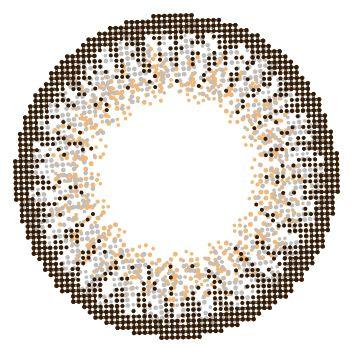 ライズアップのラヴェール アクアリッチ ワンデー 10枚/箱 (度なし) アッシュグレージュに関する画像2
