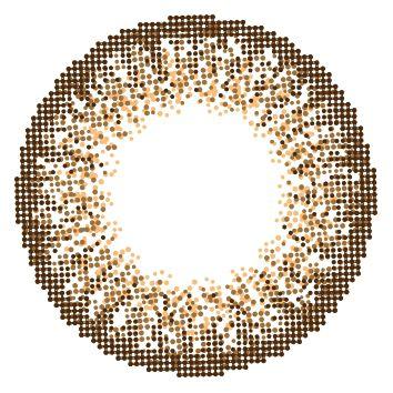 ライズアップのラヴェール アクアリッチ ワンデー 10枚/箱 (度なし) ブラウンミラージュに関する画像2