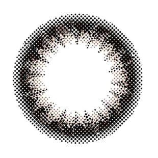 アンヴィ アンヴィUV ワンデー 10枚/箱 (度なし) プラムブラック の画像 1