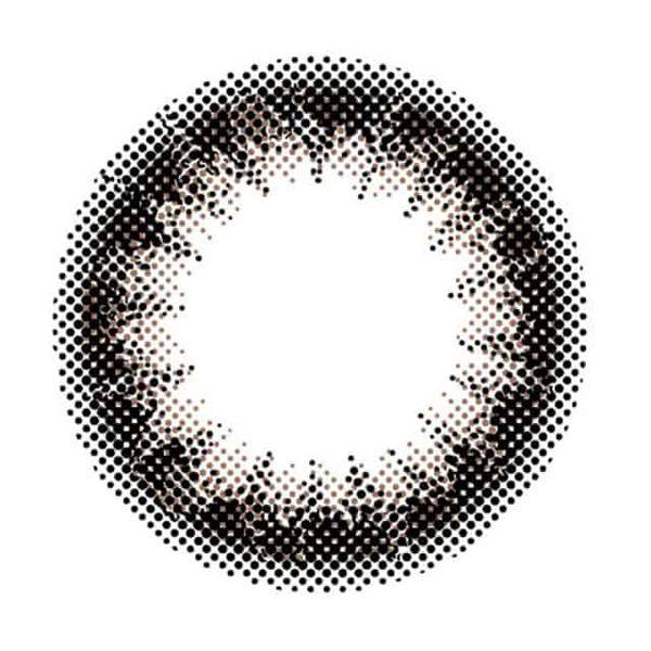 アンヴィのアンヴィUV ワンデー 10枚/箱 (度なし) プラムブラックに関する画像2