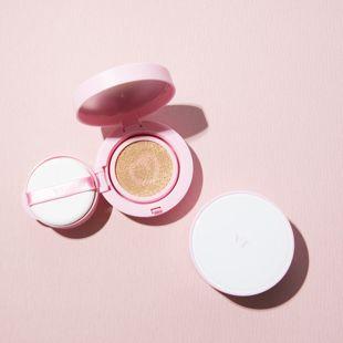 VT cosmetics ツートーンクッション 21 ライトベージュ 12g の画像 1