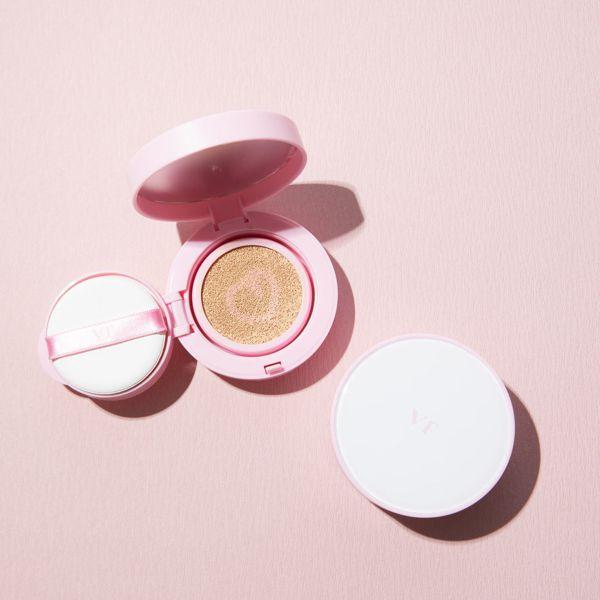 VT cosmeticsのツートーンクッション 21 ライトベージュ 12gに関する画像2