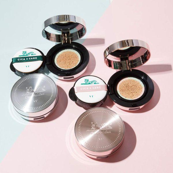 VT cosmeticsのシカレッドネスカバークッション 21番 ライトベージュ 本品14g+リフィル14gに関する画像2