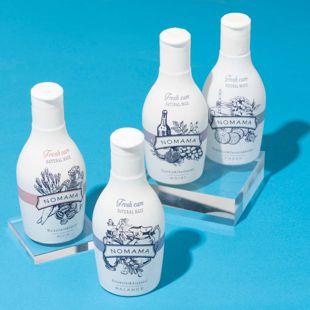 NOMAMA ナチュラルミックスローション くるみのミルク&にんじん&ラベンダー 220ml の画像 1