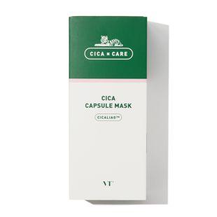VT cosmetics CICAカプセルマスク 10パック入り の画像 1