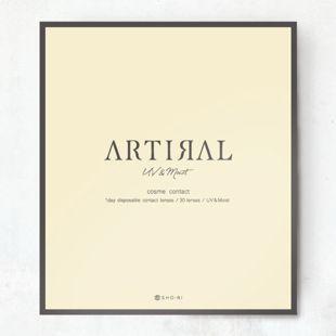 アーティラル アーティラル UV MOIST 30枚/箱(度なし) ブラウン の画像 3