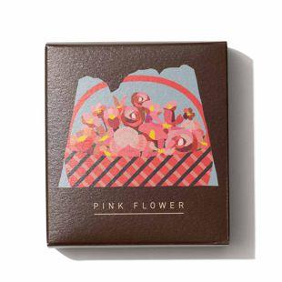 LALAHONEY ピンクフラワー石鹸 90g の画像 1
