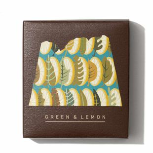 LALAHONEY グリーン&レモン石鹸 90g の画像 1