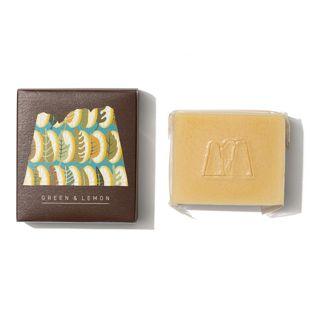 LALAHONEY グリーン&レモン石鹸 90g の画像 2