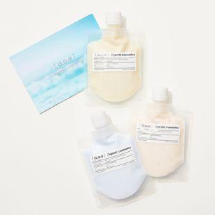 a.o.e organic cosmetics ブーストフェイシャルウォッシュ エイジングケア用 100g の画像 3