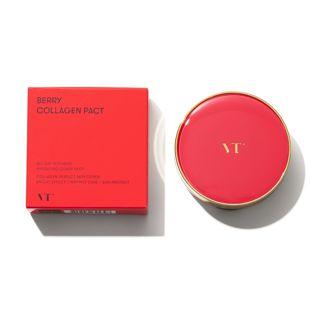 VT cosmetics VT ベリーコラーゲンパクト 23 ナチュラルベージュ 11g SPF50+ PA++++ の画像 3