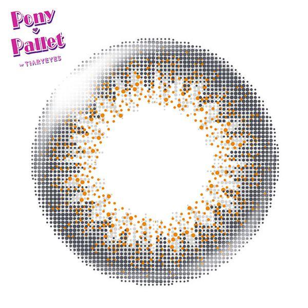 ポニーパレットのポニーパレット ワンデー 10枚/箱 (度なし) グレイに関する画像2
