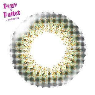 ポニーパレット ポニーパレット ワンデー 10枚/箱 (度なし) オリーブ の画像 1