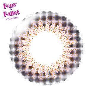 ポニーパレット ポニーパレット ワンデー 10枚/箱 (度なし) ピンク の画像 1