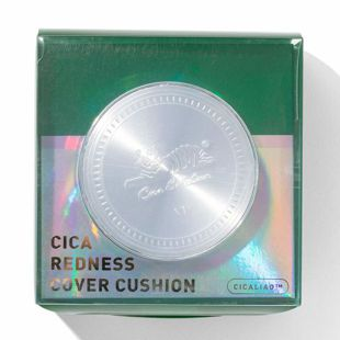 VT cosmetics シカレッドネスカバークッション 13 バニラベージュ 【リフィル付き】 14g×2 の画像 2