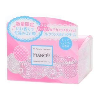 フィアンセ フレグランスボディクリーム ピュアシャンプーの香り 数量限定 100g の画像 1