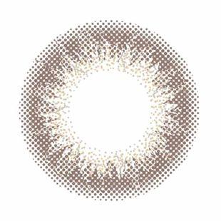 アンヴィ アンヴィ ワンデー 30枚/箱 (度なし) シャンパングレイ の画像 2