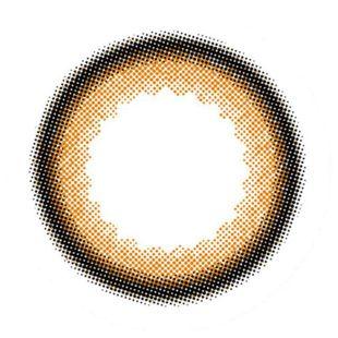 アンヴィ アンヴィ ワンデー  10枚/箱 (度なし) シャモーブラウン の画像 2