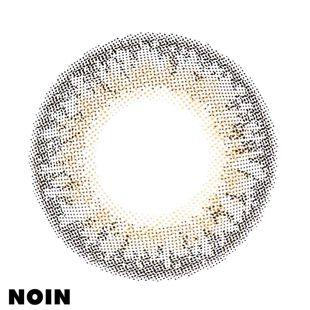 リルムーン リルムーン ワンデー 10枚/箱 (度なし) クリームグレージュ の画像 1