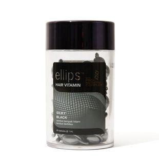 エリップス シルキーブラックオイルトリートメント  SILKY BLACK  1ml×50個 の画像 3