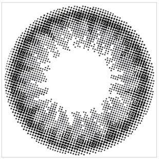 エンジェルカラー バンビシリーズナチュラル ワンデー  10枚/箱 (度なし) ナチュラルブラック の画像 1
