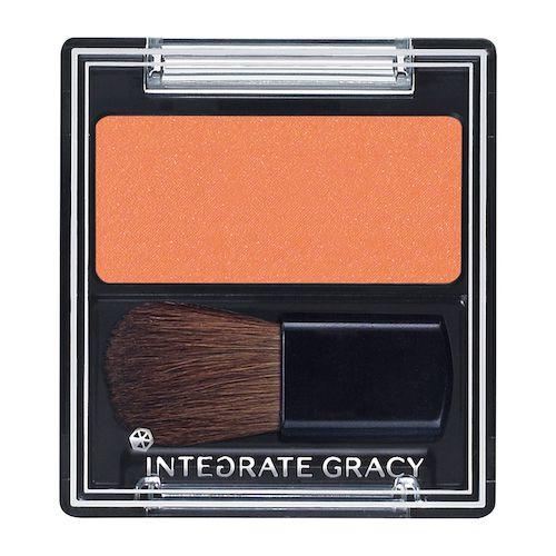 インテグレート グレイシィのチークカラー オレンジ300 2gに関する画像2
