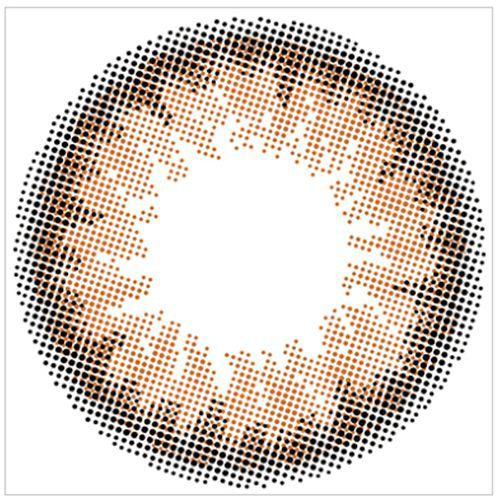 エンジェルカラーのバンビシリーズナチュラル ワンデー  10枚/箱 (度なし) ナチュラルブラウンに関する画像2