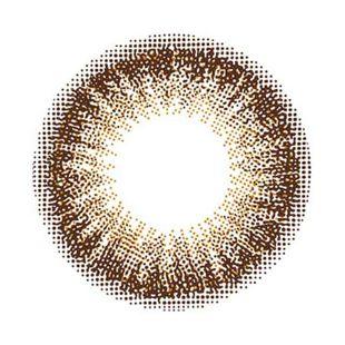 フランミー フランミー ワンデー 30枚/箱 (度なし) チョコタルト の画像 2