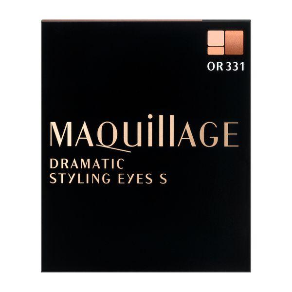 マキアージュのドラマティックスタイリングアイズS OR331 マンゴーティー 4gに関する画像2