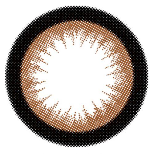 エンジェルカラーのバンビシリーズワンデー 10枚/箱 (度なし) アーモンドに関する画像2