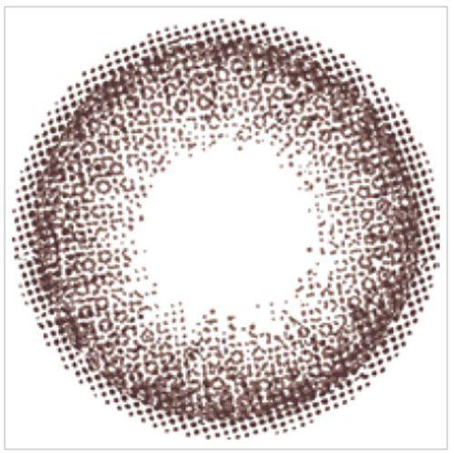 エンジェルカラーのバンビシリーズワンデー 10枚/箱 (度なし) ヴィンテージヌードに関する画像2