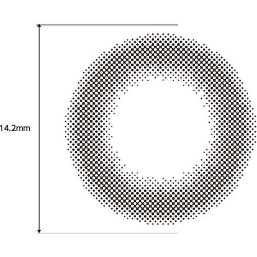 フェリアモのフェリアモ ワンデー 10枚/箱 (度なし) シアーブラックに関する画像2