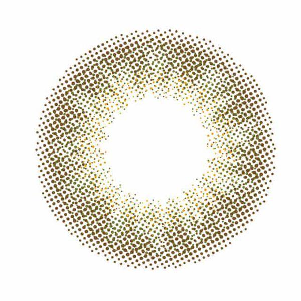 エヌズコレクションのエヌズコレクション ワンデー 10枚/箱 (度なし) 抹茶ラテに関する画像2