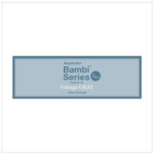エンジェルカラー バンビシリーズワンデー 10枚/箱 (度なし) ヴィンテージグレー の画像 3