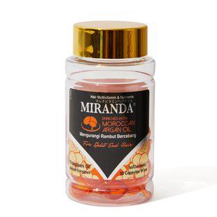 ミランダ マルチビタミンヘアオイルN バリスタイル(オレンジ) 1ml×30個 の画像 3