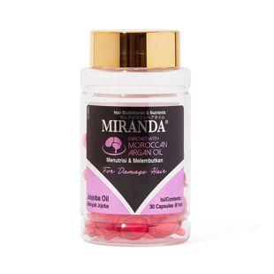 ミランダ マルチビタミンヘアオイルN ディリーケア(ピンク) 1ml×30個 の画像 3
