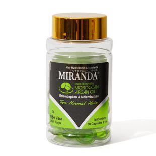 ミランダ マルチビタミンヘアオイルN モイスチャー(グリーン) 1ml×30個 の画像 3